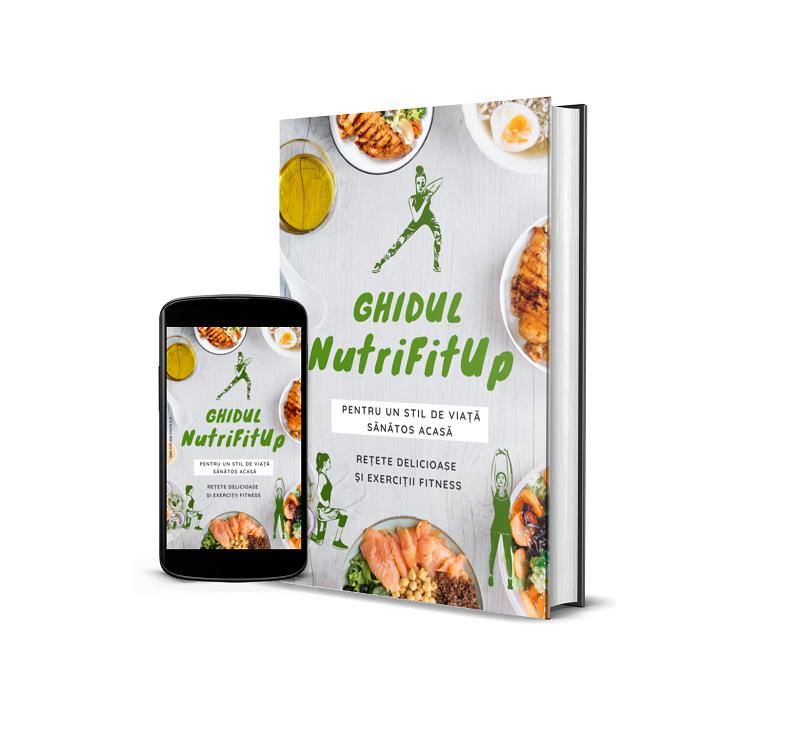 Ebook NutriFitUp Acasa Produs