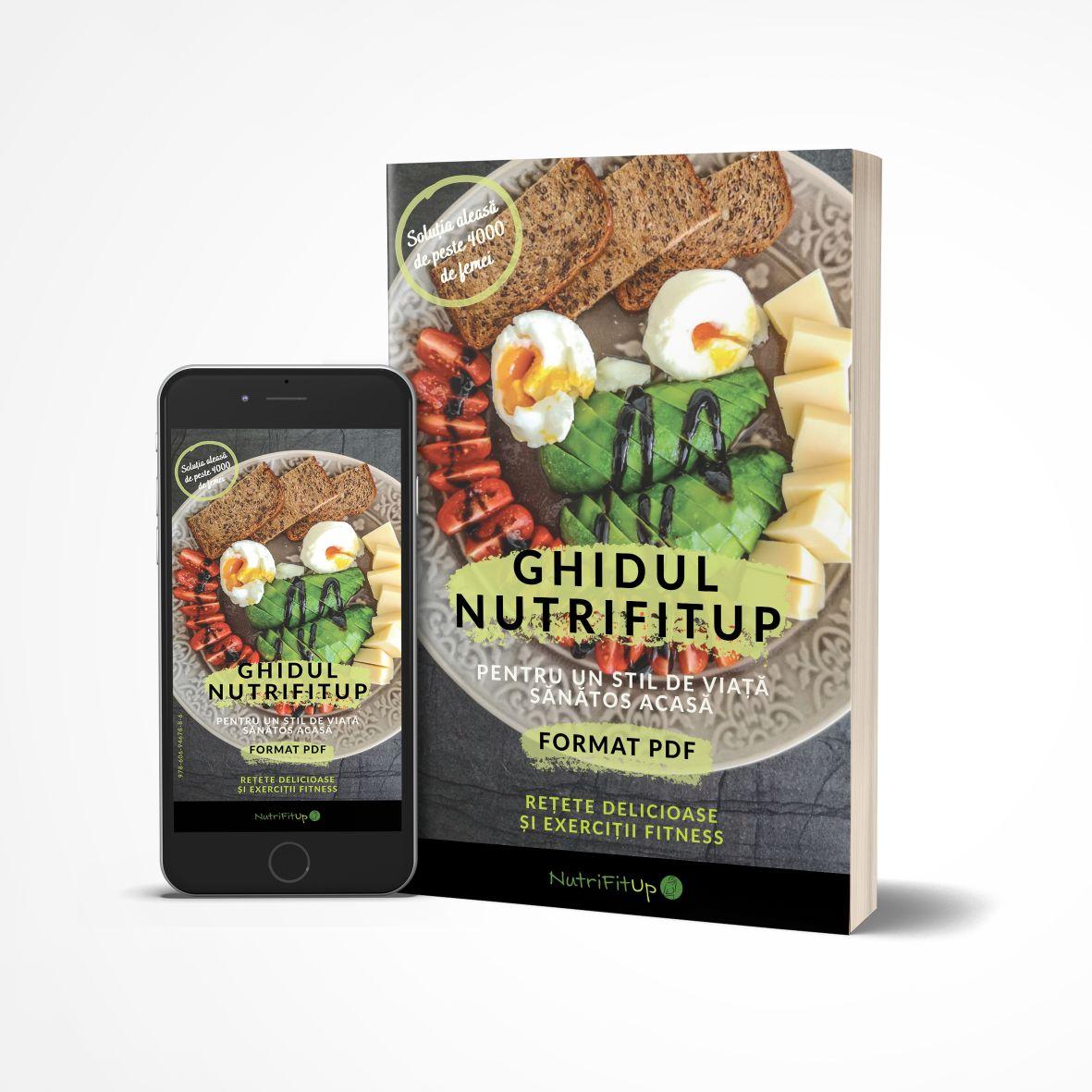 eBook (Ghidul NutriFitUp pentru un Stil de Viață Sănătos Acasă)