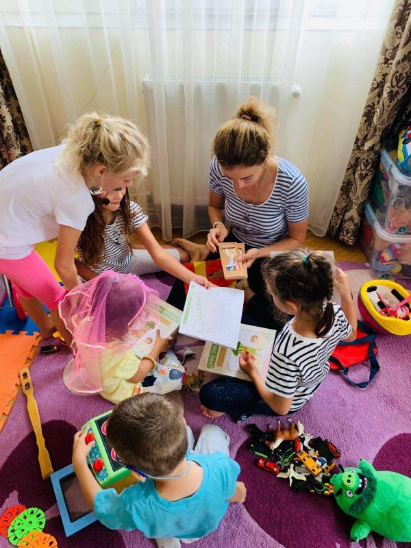Carte colorat si nutritie copii Eroii din farfurie