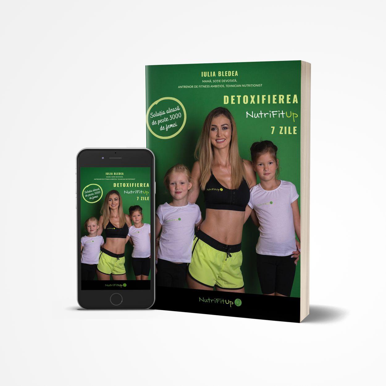 eBook Detoxifierea NutriFitUp - 7 Zile