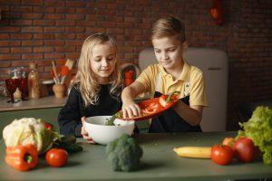 Alimentatie sanatoasa si Nutritie copii