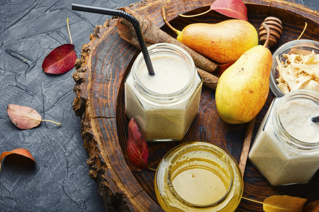 Reteta de smoothie cu pere banane si miere